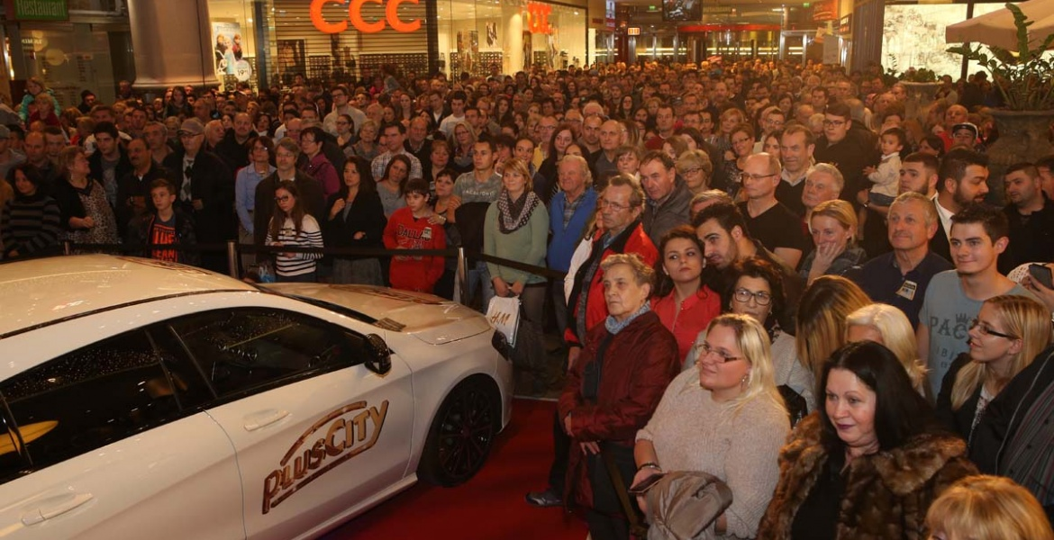 Mercedes CLA Shooting Brake Gewinnspiel - Plus City