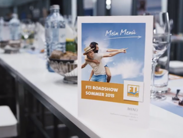 Eventvideo FTI Roadshow 2014 in der Voest Alpine Stahlwelt